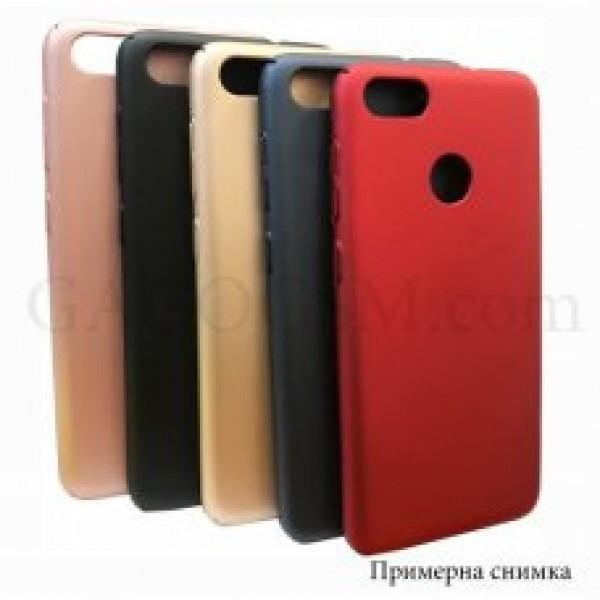 Твърдо гръбче (Plastic thin) за Huawei P smart - Черен