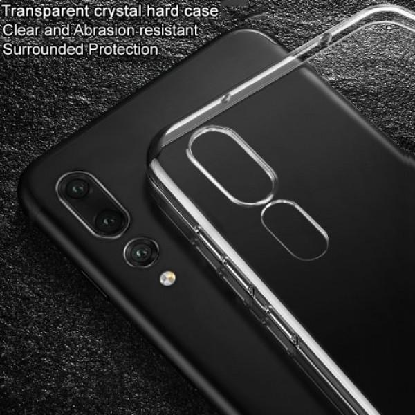Твърд гръб PVC (Crystal Clear) Huawei P20 - прозрачен