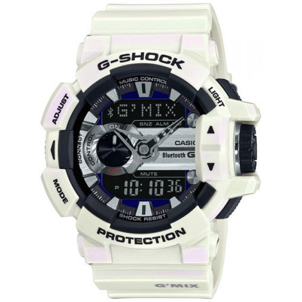 Casio G-Shock Bluetooth Music Control G'MIX GBA-400-7CER
